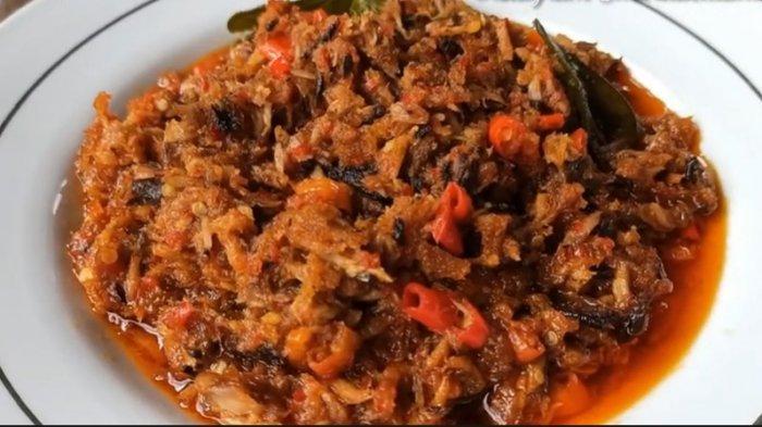 Resep Sambal Cakalang Suwir Manado Cocok Disantap dengan Nasi Hangat