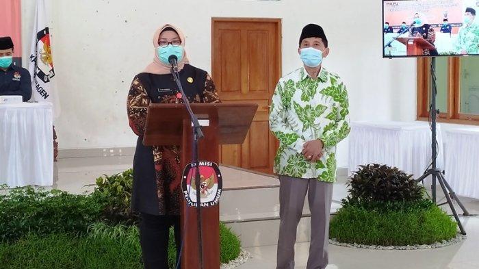 Pelantikan Bupati dan Wakil Bupati Terpilih Dalam Pilkada 2020 Sragen Mundur