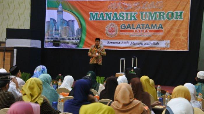 80 Orang Ikuti Manasik Umrah Galatama Tours