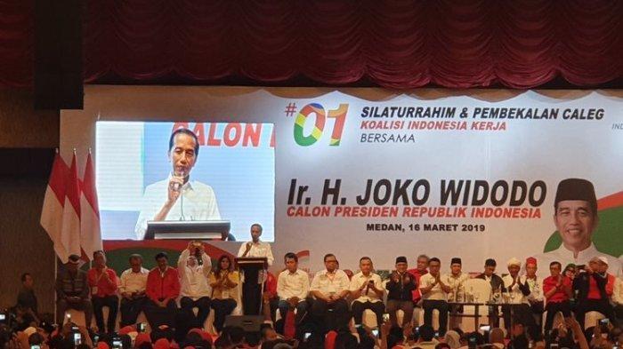 Jokowi Sebut Elektabilitasnya Tak Terganggu dengan Penangkapan Romahurmuziy