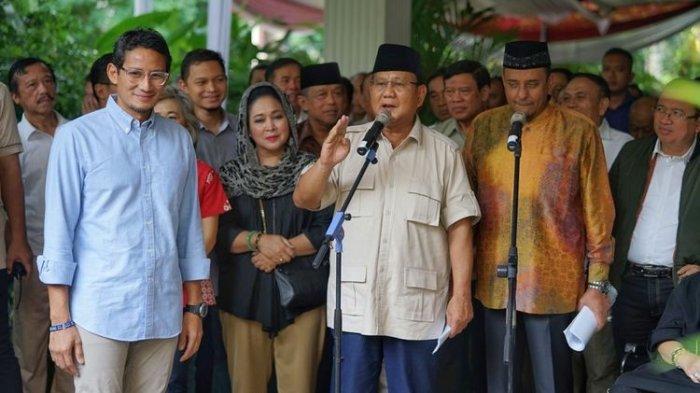 BPN Pastikan Prabowo dan Sandiaga Tak Akan Hadiri Sidang Putusan MK