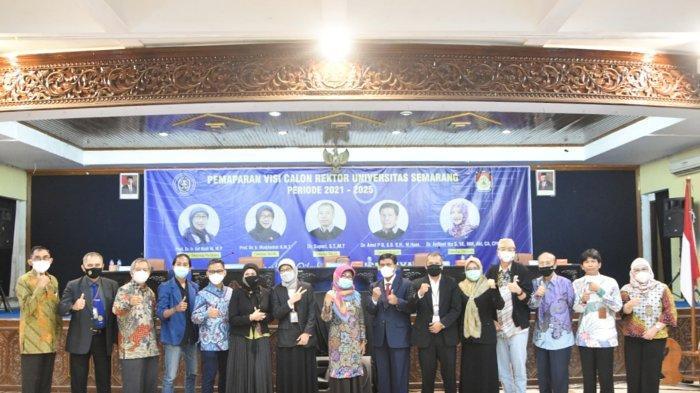 5 Calon Rektor USM Semarang Sampaikan Visi Misi