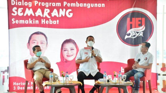 Komunitas HEI Jaya Gelar Dialog Pembangunan Semarang Semakin Hebat Bersama Hendrar Prihadi