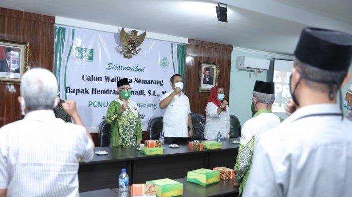 Hendi Kader NU, Para Kyai Gerakkan Warga Nahdliyin di Pilwakot Semarang 2020