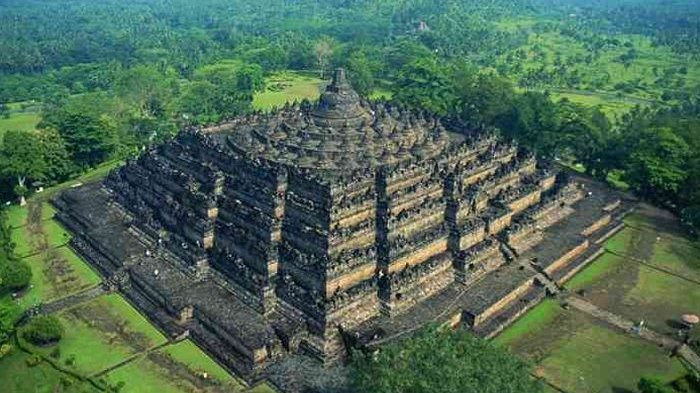 Candi Borobudur Setara Gedung Modern 10 Lantai, Tanpa Alat Canggih,  Bagaimana Membuatnya? - Tribun Jateng