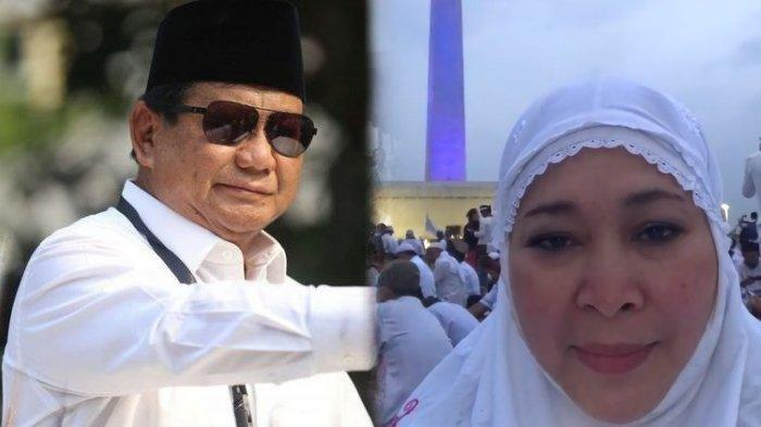 Hadiri Reuni Akbar 212, Titiek Soeharto Ikut Sholat Subuh Berjamaah, Prabowo Berpidato