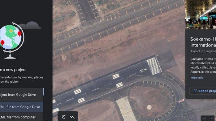 Cara mengimport file KML di Google Earth.(Google Earth)