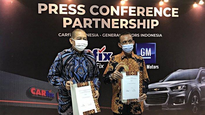 Carfix Resmi Layani Servis Mobil GM Indonesia
