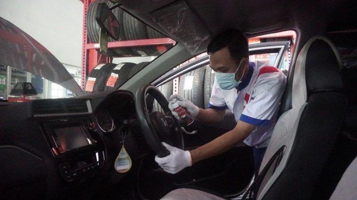 CARfix Gratiskan Penyemprotan Disinfektan Tiap Lakukan Service Mobil Berkala