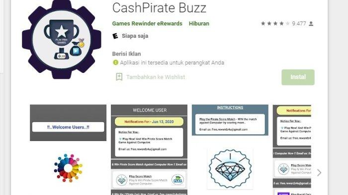 Aplikasi Penghasil Uang Cash Pirate, Begini Cara Mendapatkan Cuan