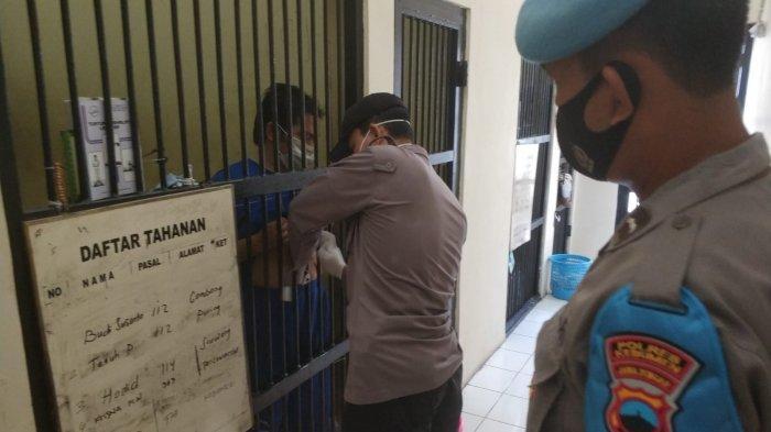 Polres Kebumen Rutin Cek Kesehatan Tahanan Tiap Pagi