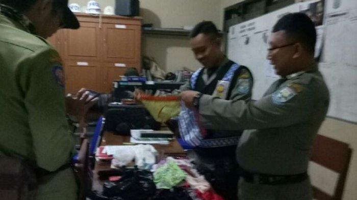 Razia 6 Pemuda Mabuk, Satpol PP Purbalingga Temukan 50 Pakaian Dalam Wanita