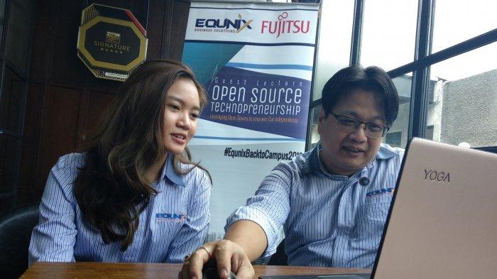 PT Equnix Business Solutions Kampanyekan Open Source ke Mahasiswa di Semarang