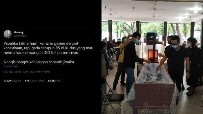 Cerita Korban Kecelakaan Ditolak RS di Kudus karena Penuh Pasien Covid-19, Akhirnya Meninggal