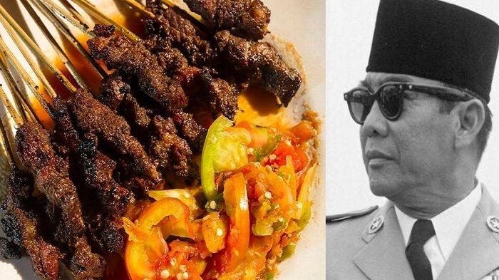 Sate Ayam 50 Tusuk, Konon Inilah Perintah Pertama Presiden Soekarno Sang Proklamator