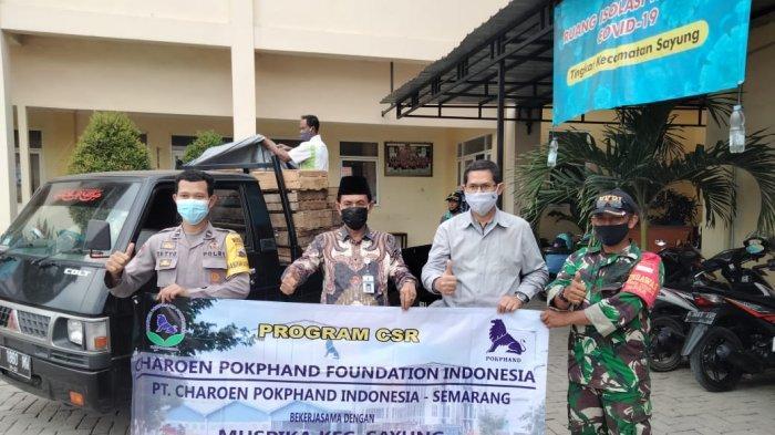 Charoen Pokphand Salurkan 2,5 Ton Telur di Semarang dan Demak