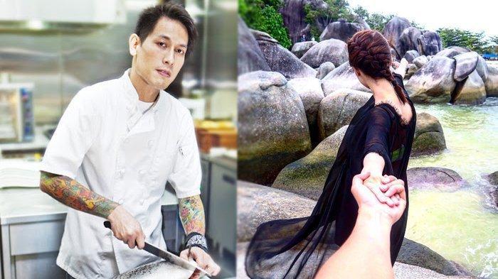 Inilah Sosok Mantan Istri Chef Juna WNA Bule Amerika, Cerai Karena Jarang. . .