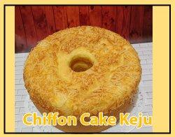 Chiffon Cake Keju