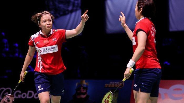 China Juara Sudirman Cup 2021
