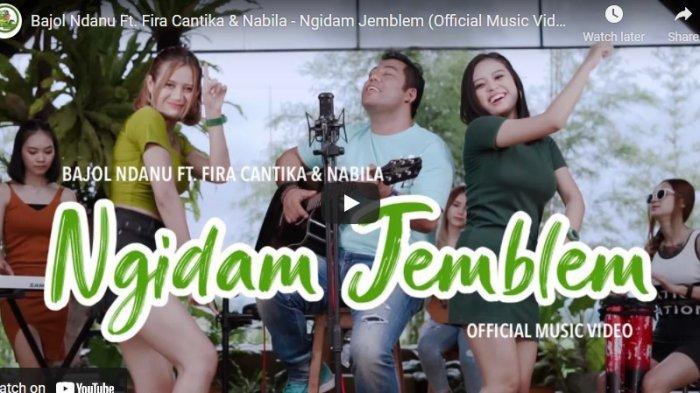 Chord Gitar dan Lirik Lagu Ngidam Jemblem Bajol Ndanu Ft. Fira Cantika & Nabila