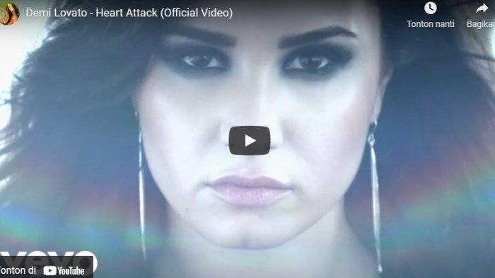 Chord Kunci Gitar dan Lirik Lagu Heart Attack Demi Lovato