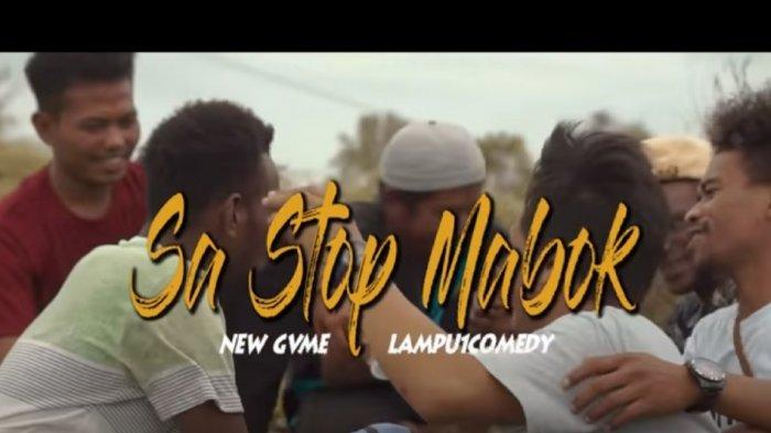 Chord Kunci Gitar Sa Stop Mabuk New Gvme feat. Lampu1Comedy