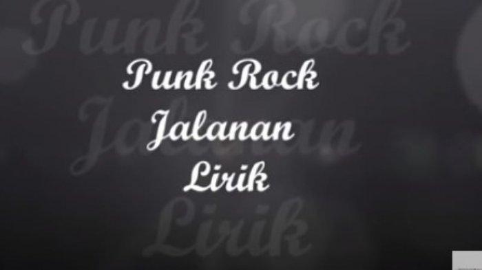 Chord Kunci Gitar Kusimpan Rindu di Hati Punk Rock Jalanan