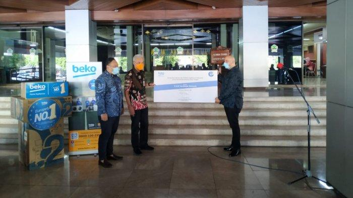 Beko Sumbangkan Ventilator ke Pemprov Jawa Tengah untuk Perangi Covid-19