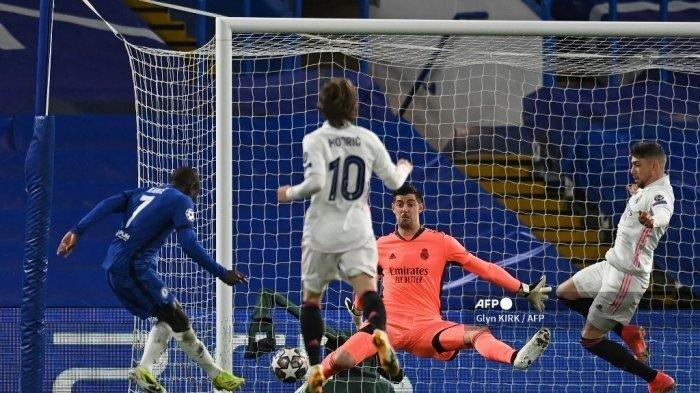 Hasil Liga Champions, Chelsea Obok-obok Real Madrid, Kante Napas Kuda, Hazard Mending Pensiun Saja