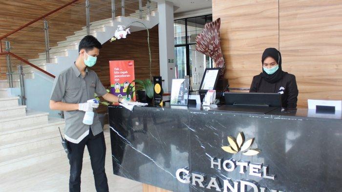 Hotel Grandhika Indonesia Siapkan Langkah Antisipatif Penyebaran Virus Corona Atau Covid 19 Tribun Jateng