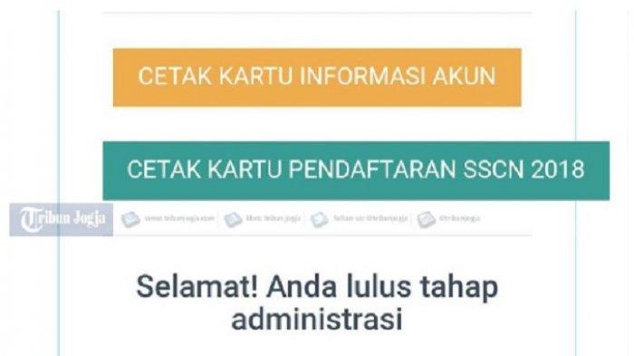 Link Pengumuman Seleksi Administrasi CPNS 2018 Kementerian Sekretaris Negara Kemensetneg