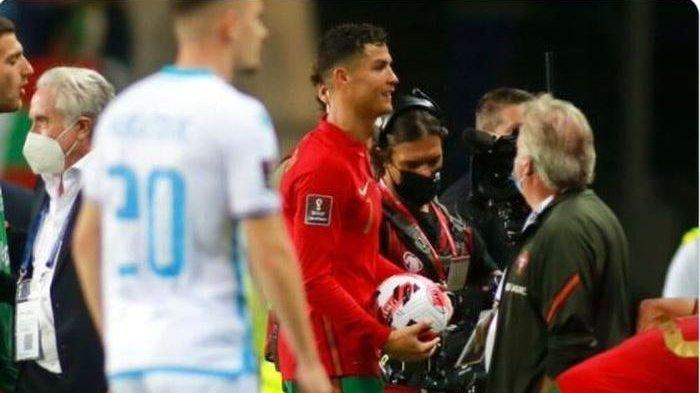 Cristiano Ronaldo Cetak 3 Gol Dalam 6 Menit, Sayangnya Ada yang Tak Dikehendaki Wasit