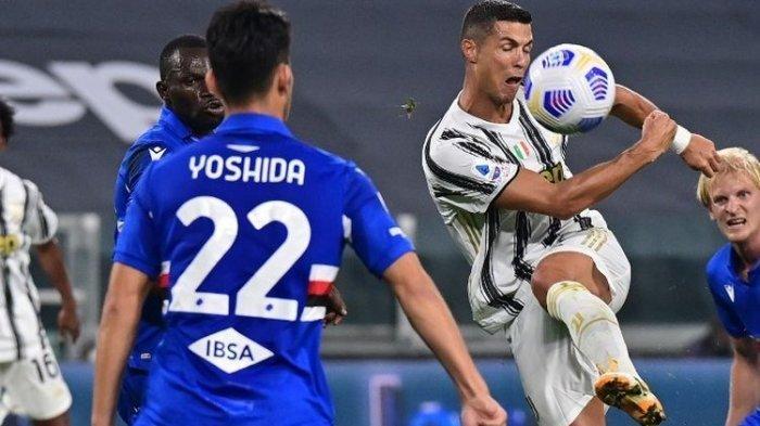 Hasil Liga Italia Tadi Malam Juventus Vs Sampdoria, Si Nyonya Tua Bikin Tim Tamu Tak Berdaya