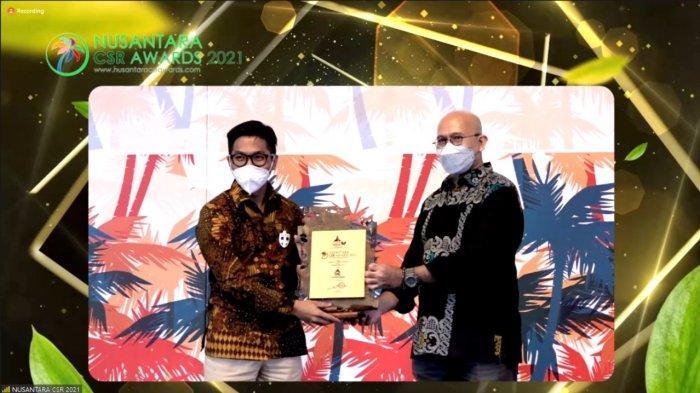 Bukti Keberhasilan Pemberdayaan BUMDes, Semen Gresik Raih Nusantara CSR Awards 2021