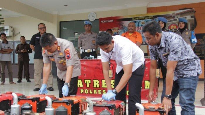 Mesin Traktor Hasil Curian Dihargai Rp 5 Juta, Residivis Ini Sasar Area Persawahan di Cilacap