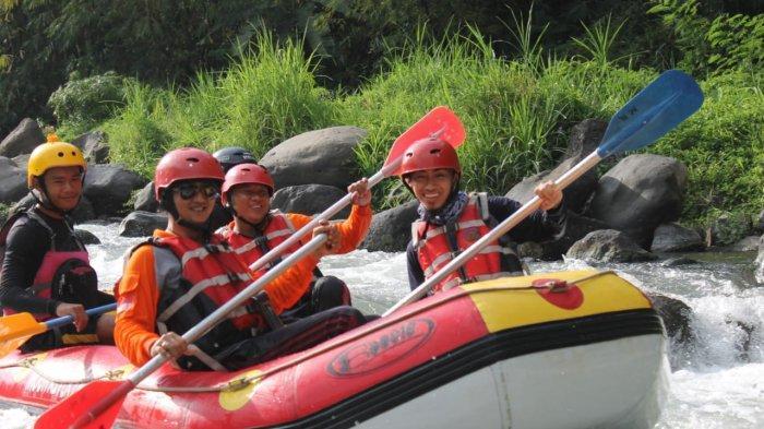 Rafting Curug Bengkawah Pemalang Terapkan Prokes Ketat