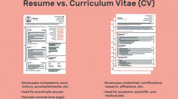 Apa Itu CV Curriculum Vitae? Ini Perbedaannya dengan Resume dan Portofolio