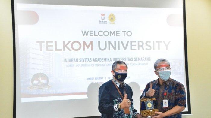USM Belajar Pengelolaan Teknologi Informasi ke Telkom University