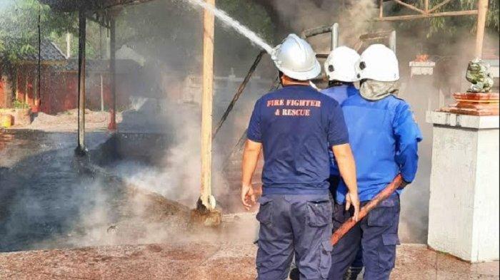 Kebakaran di Klenteng Sam Poo Kong Sudah Padam