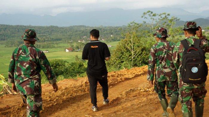 Angkat Potensi Wisata, Jajaran Perbukitan Desa Tumanggal Purbalingga Cocok jadi Track Paralayang