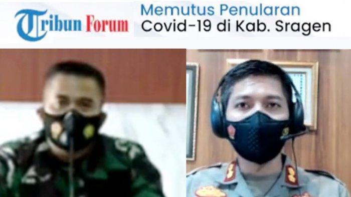 Tribun Forum, Bupati Sragen: ASN Harus Jadi Duta Taat Prokes Bagi Masyarakat