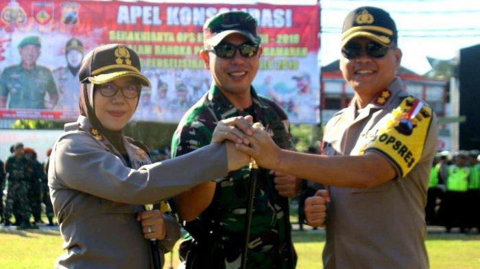 Wujud Soliditas, TNI-Polri dan Forkompinda Tegal Gelar Apel Bersama