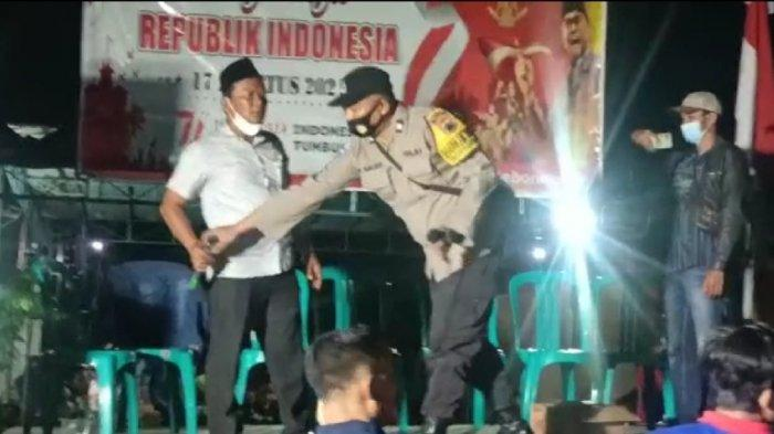Viral Video Warga Kebonagung Kendal Bikin Panggung Dangdut Rayakan HUT RI, Tak Mau Dibubarkan Polisi