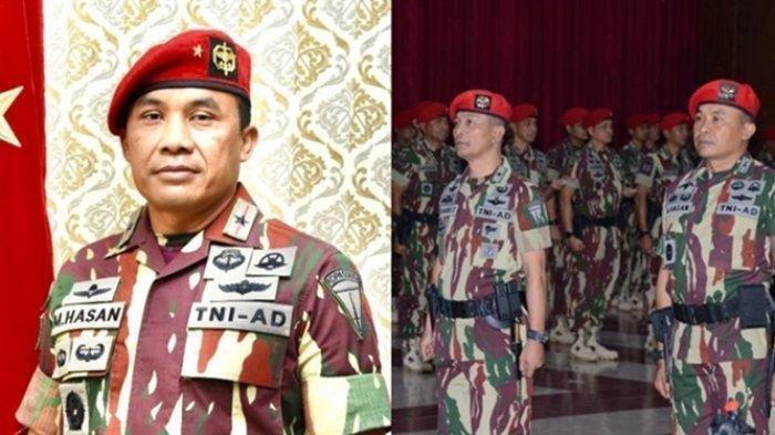 Jadi Danjen Kopassus, Ini Pengalaman Tempur Brigjen TNI M Hasan, dari Timor Timur hingga KKB Papua