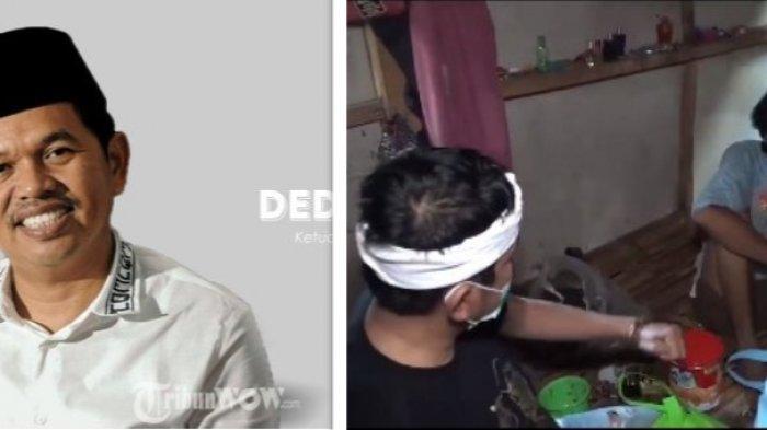 Viral Dedi Mulyadi Anggota DPR RI Ditampar Dua Kali oleh Pria ODGJ di Purwakarta