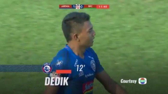 Hasil Babak I Skor 1-0 Arema FC Vs PSIS Semarang, Dedik Cetak Gol Cepat