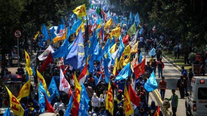 Meski Tak Demo, Buruh di Jateng Tetap Suarakan Penolakan Omnibus Law