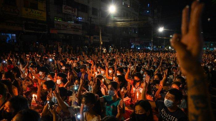 Militer Myanmar Tembak Mati Bocah 7 Tahun, Myo Chit Duduk di Pangkuan Ayah saat Tentara Dobrak Rumah