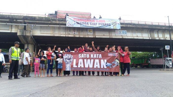 56 Sertifikat Dibatalkan BPN, Warga Kebonharjo Semarang Pasang Spanduk Siap Berperang