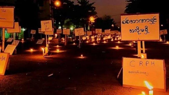 Pembantaian, 114 Demonstran Myanmar Termasuk Anak-anak Tewas dalam Sehari